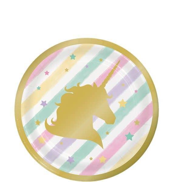 Plastic Unicorn Cake Topper