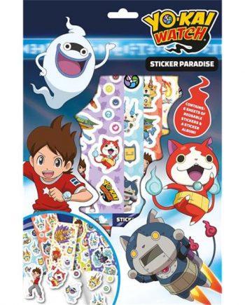 Yo-Kai Watch Sticker Paradise Box