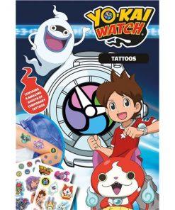 Yo Kai Watch Party Temporary Tattoos