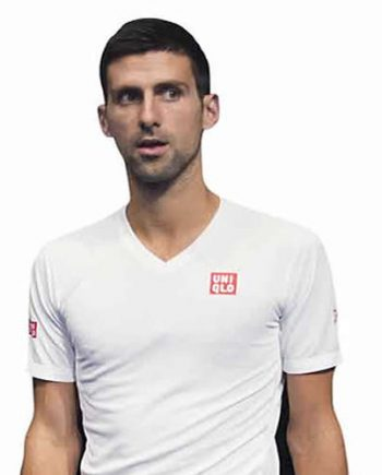 Novak Djokovic Lifesize Cardboard Cutout