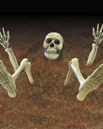 Halloween 3D Skeleton Groundbreaker