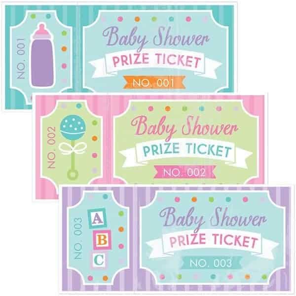 Buy Baby Shower Raffle Prize Tickets Fun Party Supplies