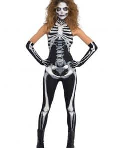 Halloween Bone-A-Fied Babe Costume