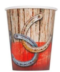 Rodeo Western Party Paper Cups