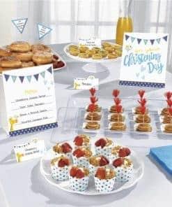 Christening Day Blue Buffet Kit