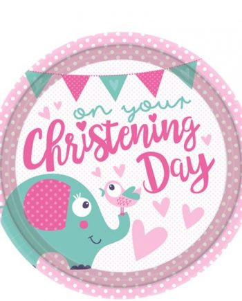 Christening Day Pink Party Supplies