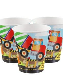 Construction Party Paper Cups