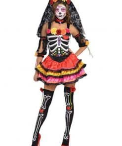 Halloween Day of the Dead Senorita Costume