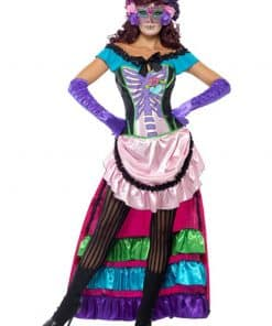 Halloween Day of the Dead Sugar Skull Costume