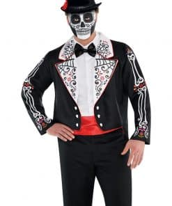 Halloween Day of the Dead Tailcoat Costume