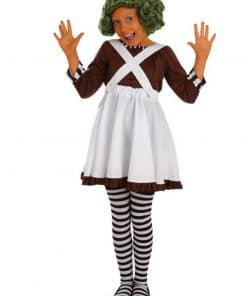Roald Dahl Oompa Loompa Costume