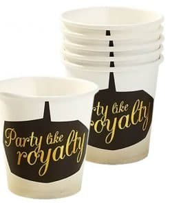 Glitterati Party Paper Shot Glasses