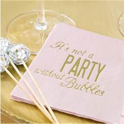 Glitterati Party Cocktail Paper Napkins