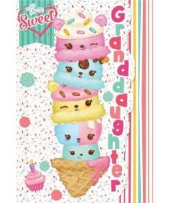 Num Noms Party Granddaughter Birthday Card