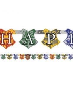 Harry Potter Party Happy Birthday Banner