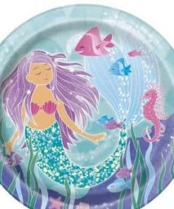 Mermaid Party Paper Plates
