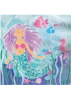 Magical Mermaid Napkins