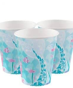 Magical Mermaid Paper Cups