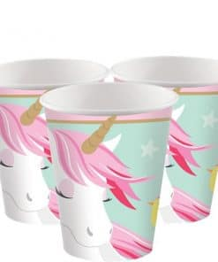 Magical Unicorn Party Paper Cups