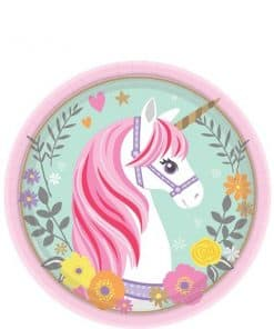 Magical Unicorn Party Dessert Plates
