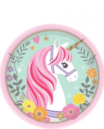 Magical Unicorn Party Dessert Plates