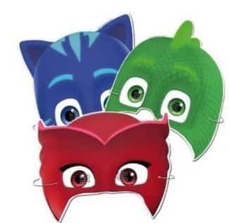 PJ Masks Party Masks