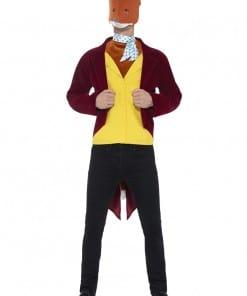 Roald Dahl Mr Fox Adult Costume