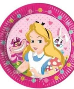 Alice in Wonderland Party Paper Plates