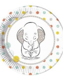 Disney Baby Shower Party Paper Plates