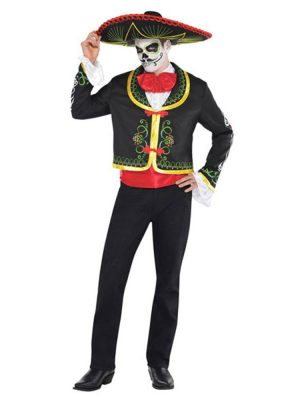 Halloween Senor Day of the Dead Costume