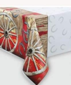 Rodeo Western Party Plastic Tablecover