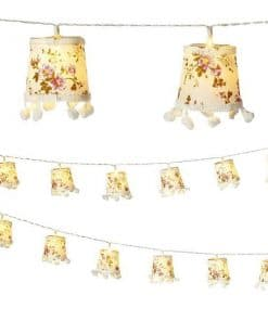 Truly Scrumptious Vintage Lampshade Light