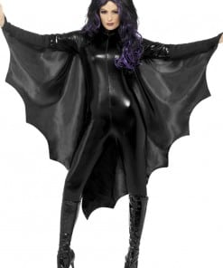 Halloween Vampire Bat Wings Cape