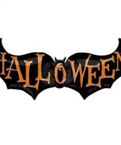Halloween Bat Foil Balloon