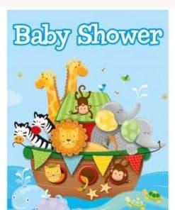 Noah's Ark Party Invites