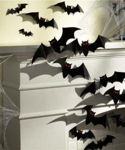 Halloween Large 3D Paper Bats Decorations