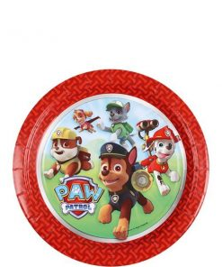 Paw Patrol Party Paper Dessert Plates