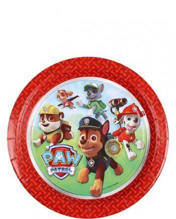 Paw Patrol Party Paper Dessert Plates