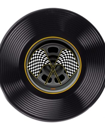 Plastic Racing Tyre Decoration