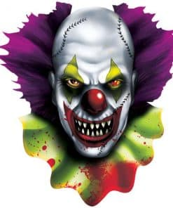 Halloween Scary Clown Cutout