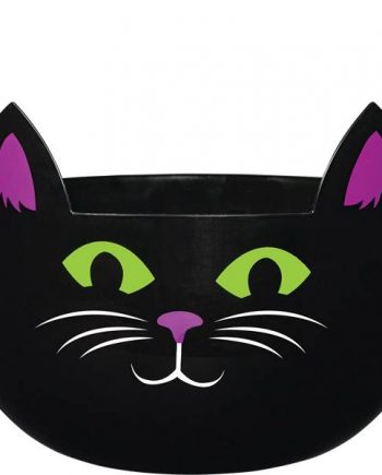 Halloween Party Spooky Cat Bowl