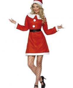 Bargain Miss Santa Suit