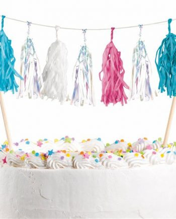 Be A Mermaid Party Cake Bunting