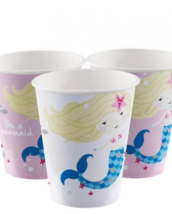 Be A Mermaid Party Paper Cups