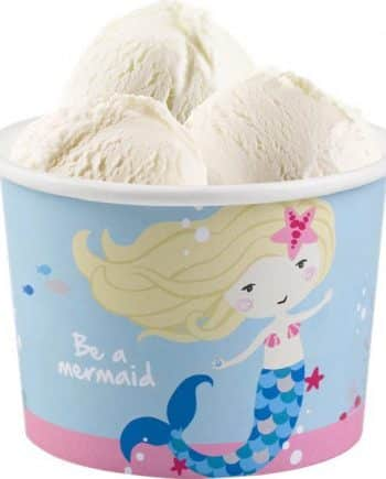 Be A Mermaid Party Ice Cream Tubs