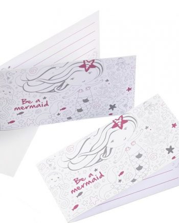 Be A Mermaid Party Invitations