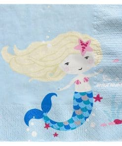 Be A Mermaid Party Paper Napkins