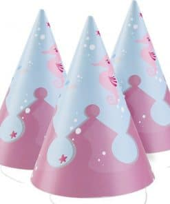 Be A Mermaid Party Cone Hats