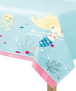 Be A Mermaid Party Paper Tablecover