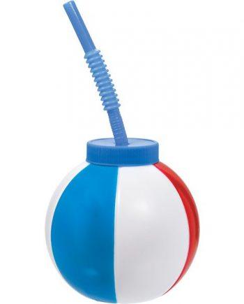Beach Ball Plastic Sip Cup